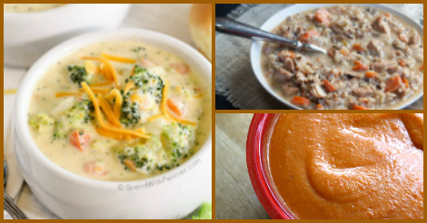 Delicious fall soups to warm you up