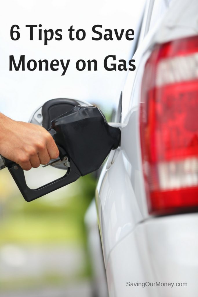 6 Tips to Save Money on Gas